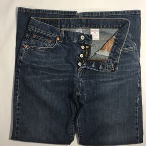 Lucky Brand Dungarees Easy Rider Button Fly Jeans